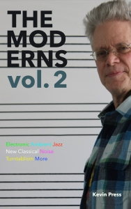 The Moderns cover in paint